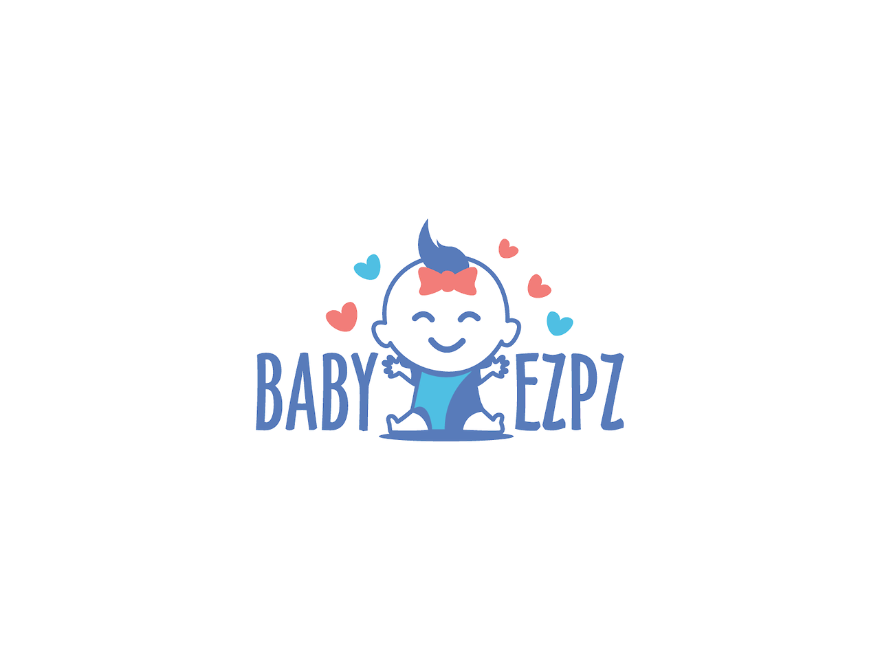 baby girl logo design