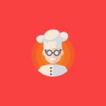 Chef Character logo design
