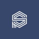 Monogram PS logo design