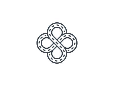 Infinity road logo design