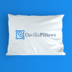 Davilla Pillows logo design
