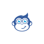 Smart Monkey with glasses