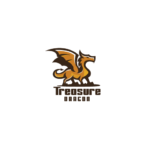 Treasure Dragon spread wings