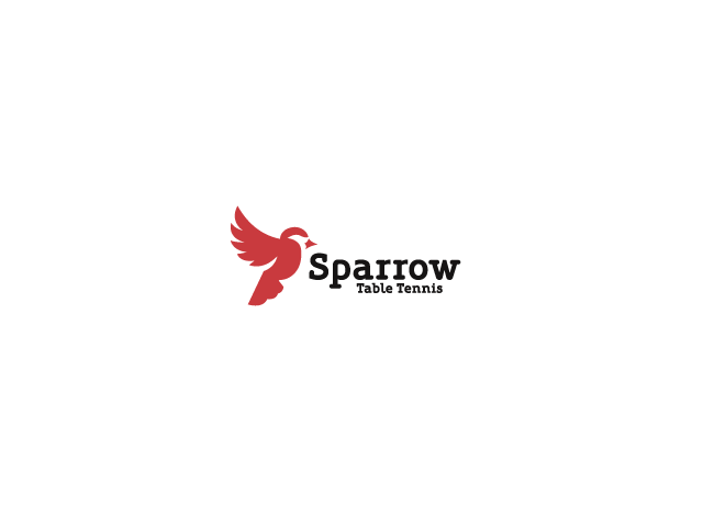 Sparrow Table Tennis Logo