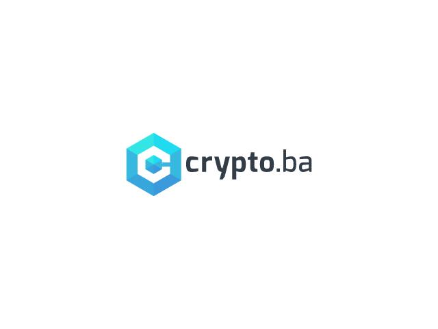 crypto.ba logo design