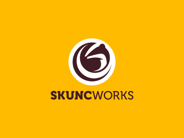 skunk logo design