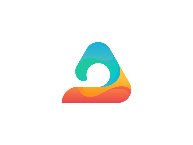 Colorful A logo design