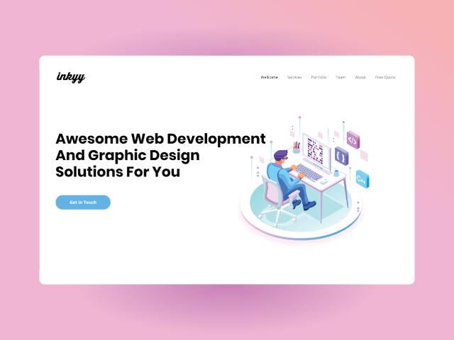 inkyy.com web design