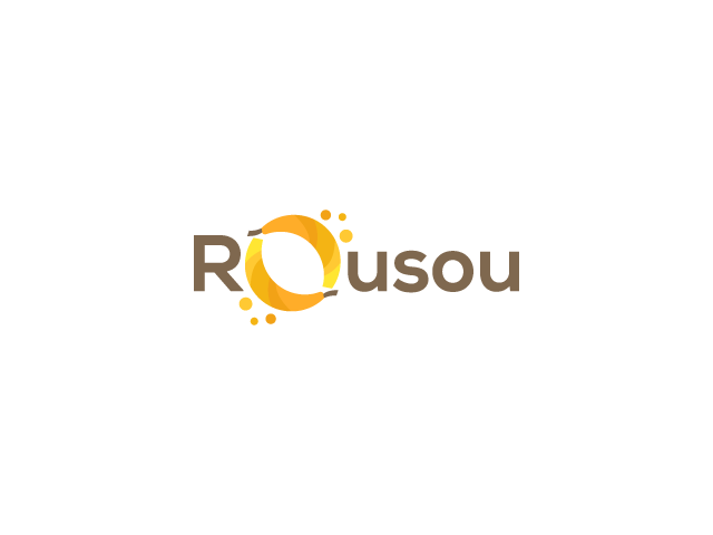 Banana logo design rousou bananas in O