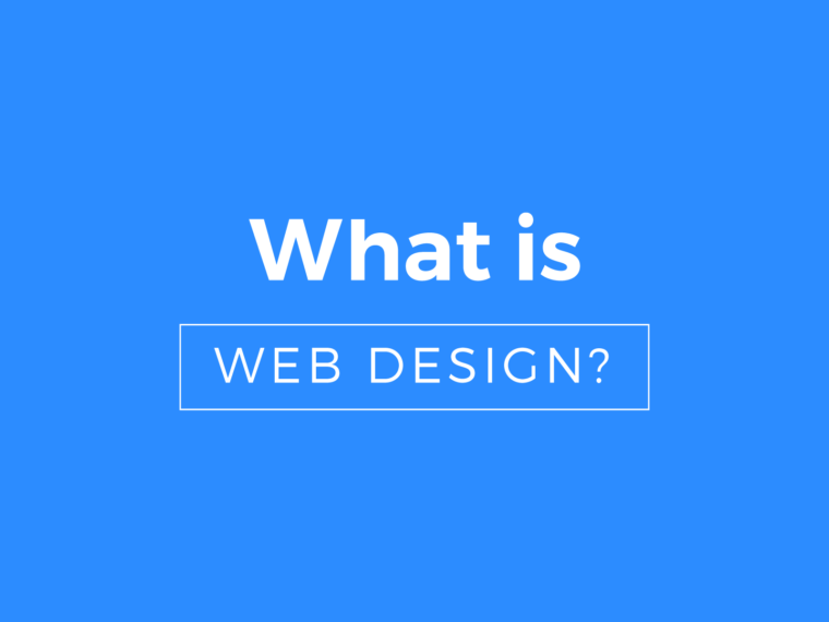 what is web design blue