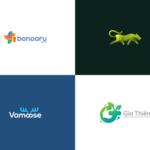 Professional logo design 4 logos