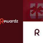 Rewardz typography logo design