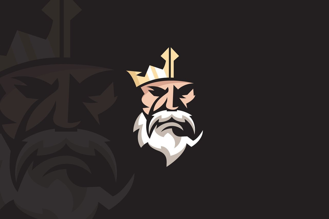 King with the crown logo