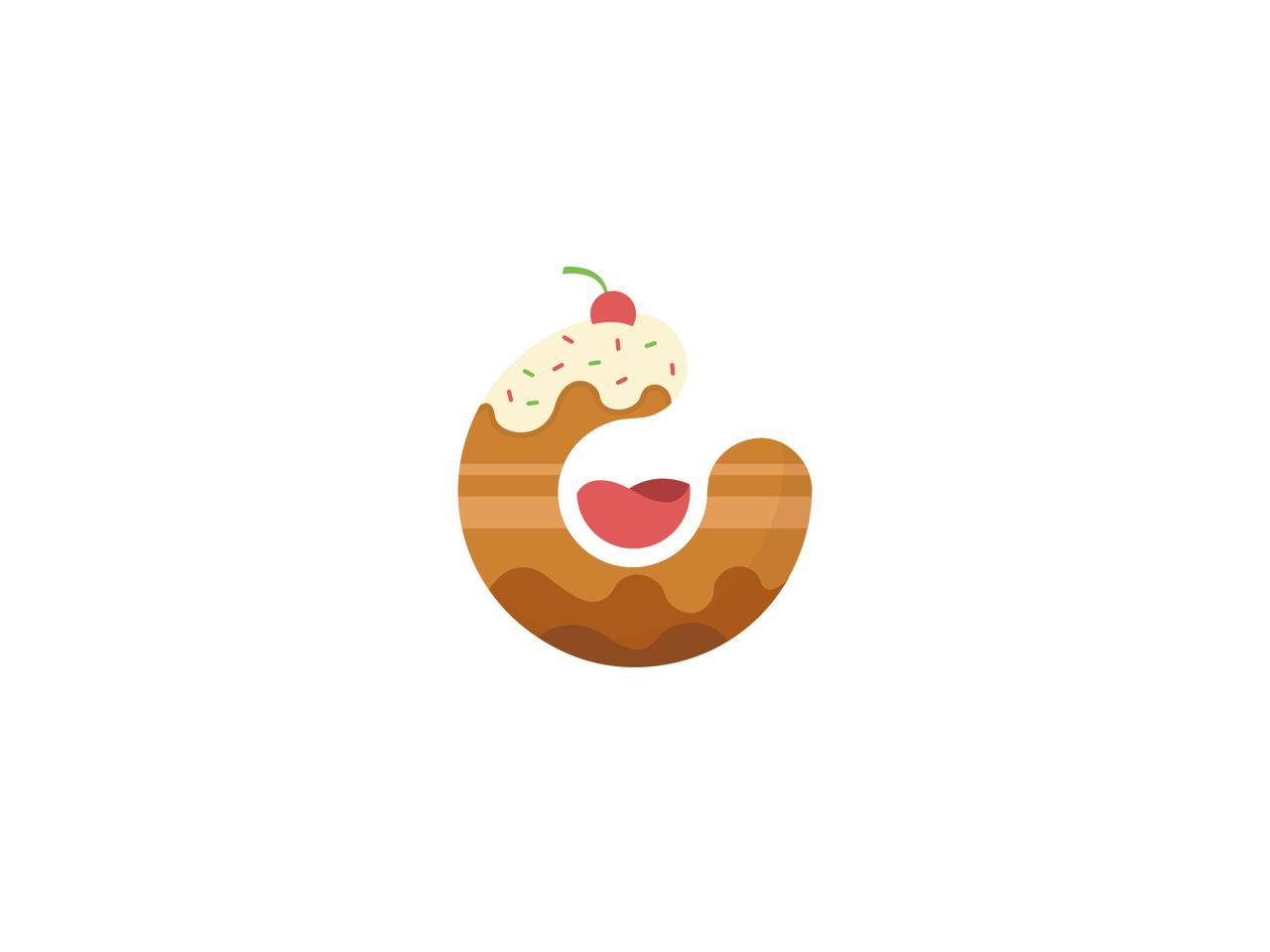 C cake logo