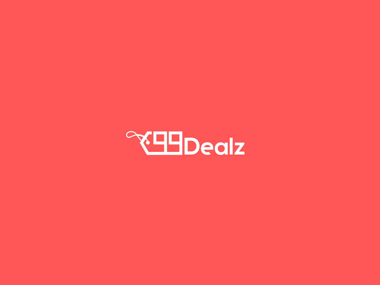 ecommerce logo design 99Dealz price tag