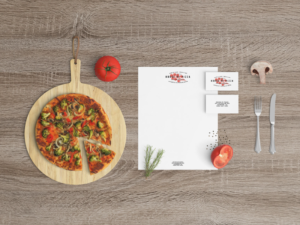 free restaurant stationery mockup psd