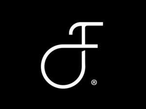 J luxury logo design