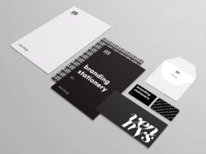 branding stationery isotropic mockup