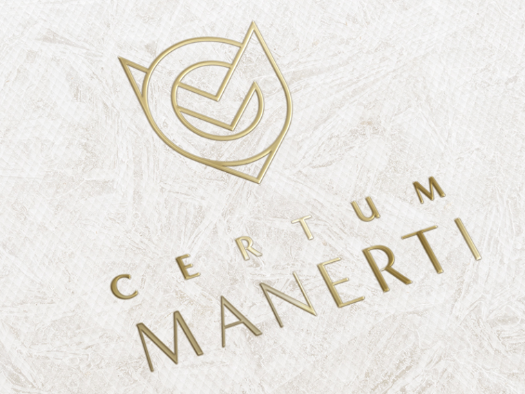 gold luxury logo design