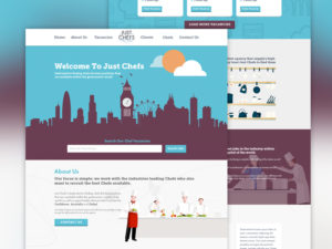 just chefs web design