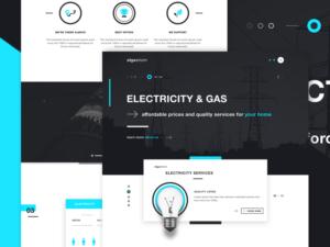 elgastrom-energy-provider-landing-page-website