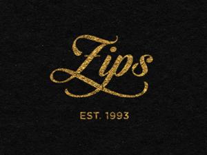 golden logo design zips
