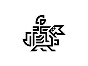 horse knight luxury logo