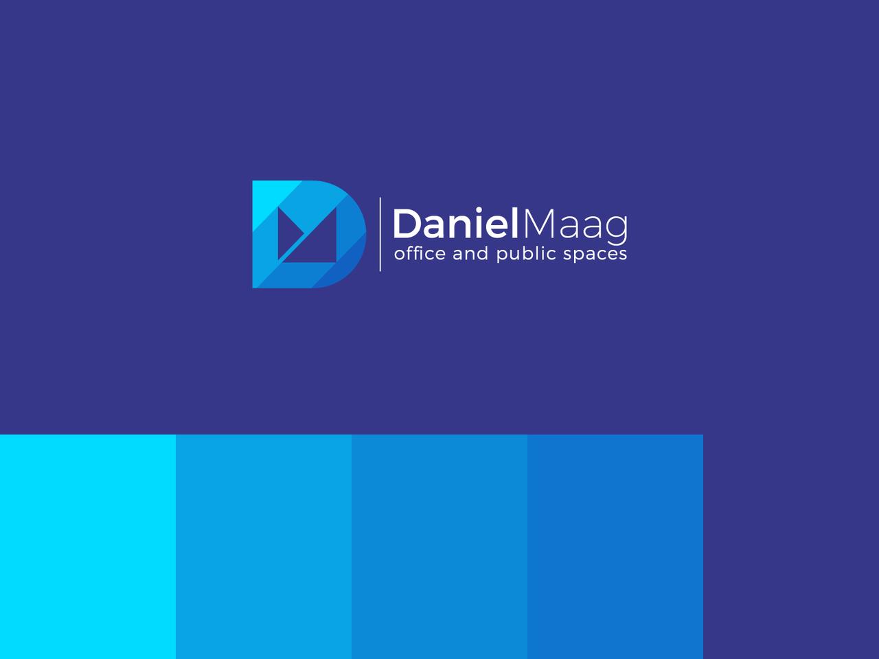 Daniel Maag D letter logo design