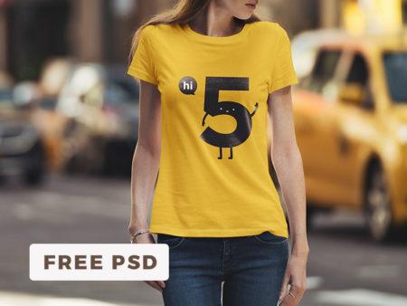 t-shirt mockup psd free