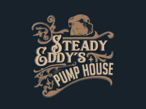 Steady Eddy's Pump House Logo Design