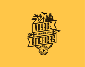 Voyage Around the Americas Logo Design