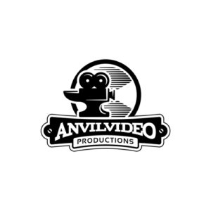 anvil video vintage logo design