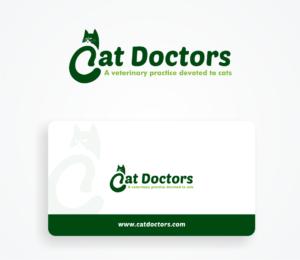 cat doctors logo design