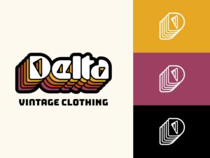 delta vintage logo