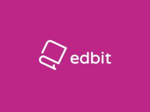 edbit purple minimalist logo