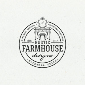 Rustic Farmhouse Vintage Logo Design