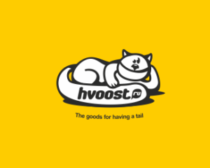 hvoost.ru cat logo design