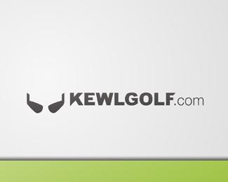 kewlgolf.com logo design idea