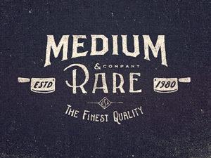 Medium Rare Wordmark