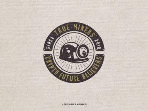 miners vintage logo