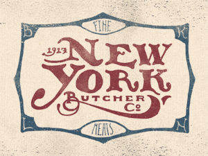 New York Butcher Logo Design