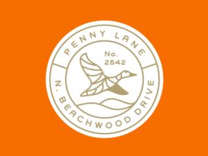 Penny Lane Vintage Logo Design