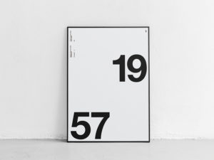 poster mockup numerical