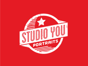 Studio You Red Vintage Logo