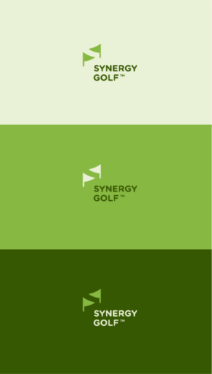 synergy golf logo design idea