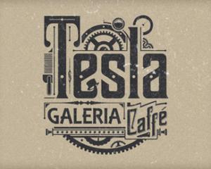 Tesla Galeria Logo Design