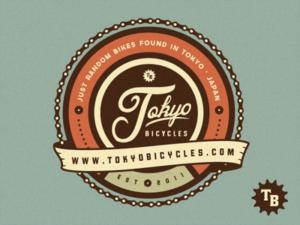 Tokyo Bicycles Logo Design