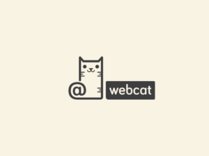 web cat logo design