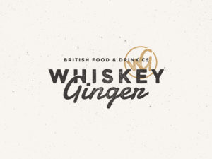 Whiskey Ginger Logo Design